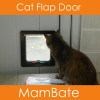 Wholesale Brand New Lockable Cat Flap Door Kitten Dog Pet Lock Heavy Duty suitable for any wall or door