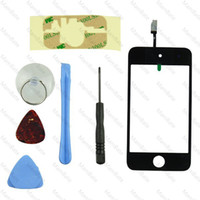 Wholesale Brand New LCD Screen Touch Digitizer Glass Assembly Tools for iPod Touch th Gen G i74
