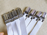 Wholesale 4 BED SHEET GRIPPERS Fasteners Elastic Clips For bed sofa