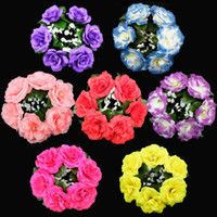 flower candle ring - Candle Ring Rings Wedding Flowers Centerpieces Multiple Choice