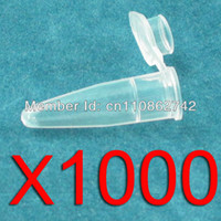 Wholesale 1000pcs Centrifugal Tubes Plastic Test Tube ml