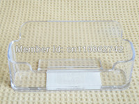 Wholesale 10 high quality Acrylic Clear Business Card Holder Stand