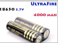 Wholesale accept dropshipping sample UltraFire V Rechargeable Battery Li ion mah