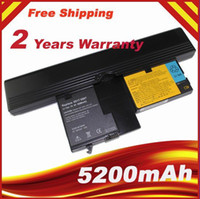 Wholesale 5200mAh Battery For IBM ThinkPad X60 Tablet PC Series X61 Tablet PC Series Y8314 Y8318