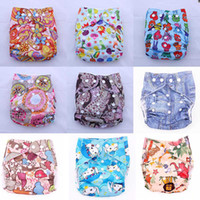 Wholesale printed pocket cloth diaper100 waterproof pul nappies Washable reusable cloth diapers