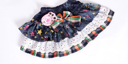 Wholesale Hot sale Girls skirts dot denim skirts baby pettiskirts Children s Short Skirt p l