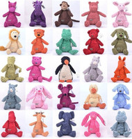 Wholesale jellycat stuffed animals dolls plush toys cute and comfortable style mixed inch