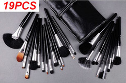 Wholesale On Sale set Professional Makeup Make Up Cosmetic Brushes Set Kit Tool Roll Up Case