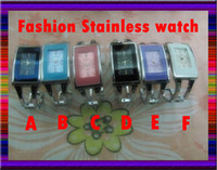 Wholesale High Quality Lady watch Wristwatches colorful Stainless Steel Luxury Watch