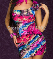 Wholesale Dresses New Fashion Hot Sale Ladies Evening Dress Sexy Costumes Novelty Women Mini Dress