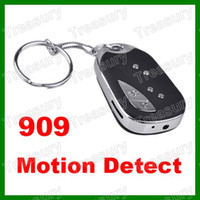 Wholesale Hot Hidden Car Key Spy Camera Mini DV DVR Recorder Keychain Camera Motion Detector