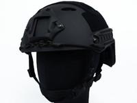 Wholesale Airsoft FAST Carbon Style Helmet Black