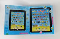 venda por atacado children laptop-Crianças Ipad, Computador Portátil de Aprendizagem de Máquina de brinquedos de Crianças tabela de fazenda Engraçado Máquina de Brinquedo frete Grátis