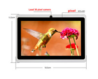 Wholesale Q88 capacitive Screen Allwinner A33 inch Android Multi Touch MB GB GHz