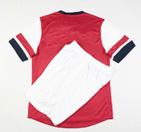 Wholesale Top Quality Arsenal Home Red Soccer Jerseys and Shorts Football Jerseys