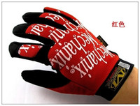 Wholesale High Quality Mechanic Wear Outdoor Sports Gloves Racing Gloves Special Gloves