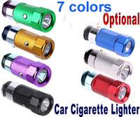 Wholesale Best Price Rechargeable LED Car Cigarette Lighter Torch Flashlight Mini Colors