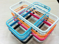 Wholesale Best Price Free shiping TPU Frame Case cover for iphone5 Frame Bumper Case for iphone5