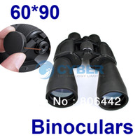 Wholesale 60 Zoom Outdoor Tourism Telescope Jumelles Binoculars for Camping Hiking Black