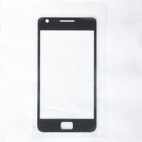 Wholesale Black outer screen lens Glass for samsung Galaxy S2 SII i9100
