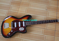 Solid Body jaguar - New Arrival Jaguar in sunset color electric guitar