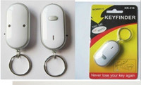 Wholesale Lowest Price Key finder Sound Control Whistle Locator Key Finder with keychain