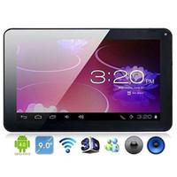 9 pulgadas Allwinner A13 Tablet PC Android 4.0 pantalla capacitiva de la cámara 8GB de almacenamiento de Skype