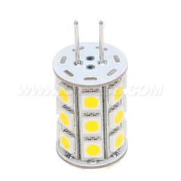Led G6.35 2700K Lamp Lighting Bulb 12VAC 12VDC 24VDC 27LED of 5050SMD 4W To Replace 35W Halogen