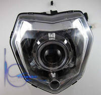 Wholesale The motorcycle headlight GSR headlights fierce beast headlights assembly bracket included