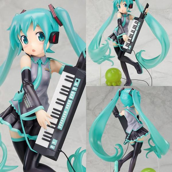Hatsune Miku Hot Hatsune Miku with Keyboard