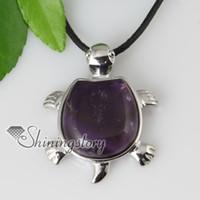 turtle pendant - turtle natural stone pendant stones jewellery Fashion necklace