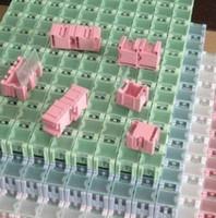 Wholesale 50pcs Electronic Case Component Boxes Storage SMT SMD Box