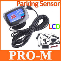 Wholesale Car LCD Parking Sensors Reverse System Backup Radar