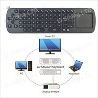 Wholesale RC12 GHz Wireless Keyboard Touchpad Mini Fly Air Mouse for google android Mini PC TV BOX