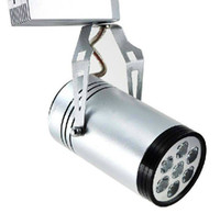 Warm White best track lighting - 7W led track light lm white color aluminum body the best price on MYY1880