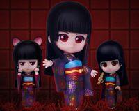 ai models - Cute Nendoroid Hell Girl Enma Ai cm Face Changeable PVC Statue Figure Model