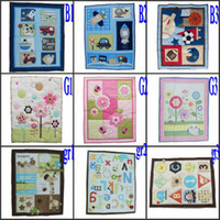 Wholesale Baby Quilt Play Mat Nursery Bedding Applique Embroidery Mix Boy Girl Patterns Order