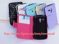 Cheap Leather Glitter leather case Best For Samsung  leather case