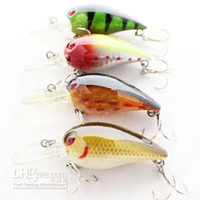 Wholesale 80pcs Fishing Tackle Fishing Lures Hard Bait Plastic Fishing Lure Minnow mm in g oz