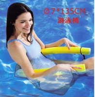 Wholesale EMS freeshipping Air inflation Water Floating chair inflatable floating chair