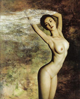 Wholesale Body Paintings Nude Painting Human Body Art Realistic Painting
