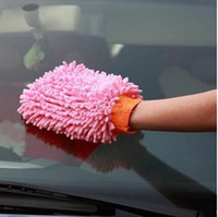 Wholesale Car Wash Glove Microfiber Chenille car cleaning cloth chenille car cleaning glove