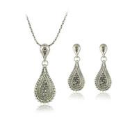 Earrings & Necklace costume jewellery set - Costume Jewellery Sets Earring Necklace Sets
