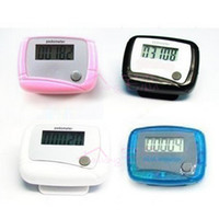 Pedometers all  Wholesale - New Pocket LCD Pedometer Mini Single Function Pedometer Step Counter goodbiiz