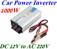 Wholesale 1000W Car auto Truck USB DC V to AC V Power Inverter Adapter Converter LED