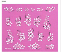 Wholesale 100 x D Nail Sticker Nail Art Decals Decoration Style Available