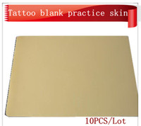Wholesale Tattoo Blank Practice Skins for Needle Machine Gun