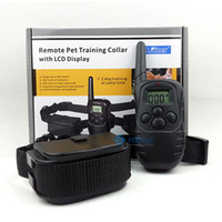 Wholesale 300 Meters Waterproof Remote Dog Pet Training Collar with LCD Display