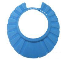 Wholesale Hot Sell New Factory Soft Adjustable Baby Kids Children Bath Cap Shampoo Shower Hat Wash Hair Shield