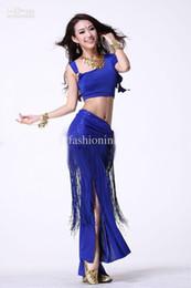 Wholesale Hottest Tassel Belly Dance Wear Performance Stage Wear FMWD